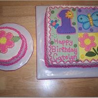 1St Birthday Hugs N Stitches theme. Idea from sugar creations!