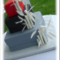 Asian Themed Wedding Cake