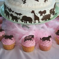 Princess Of The Jungle Birthday Cupcakes Our daughter loves princesses & animals so we had a Princess of the Jungle party for her 3rd birthday. Everything was inspired off of...