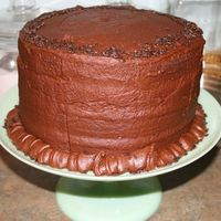 Simple & Delicious Chocolate Birthday Cake My husband loves chocolate, so when I gave him a choice of two kinds of cake, he of course, wanted both! This is a 4-layer cake......