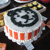 Tiger Baby Shower Cake The parents didn't find out the sex of the baby before birth, so they did the little one's room entirely of black, white and...
