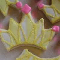Updated Crowns I get many orders for crown cookies for all the princesses I do orders for. This Mom really wanted gymnastics, but, I didn't have any...