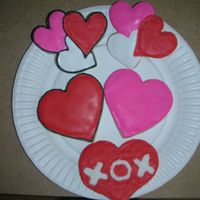 More Valentines Day Cookies   NFSC with Antonia's royal icing