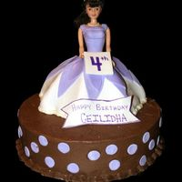 Princess Ceilidha  Just another Doll cake. However, this is my first time working with a Wonder mold. It was fun. My daughter wanted a princess cake and so it...