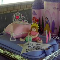 Pillow Princess Birthday  This was fun to make. It was the second princess cake my little girl got this year. The Pillow was the first one I have ever made and was a...