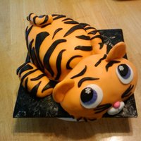 Lps Tiger I am so very proud of this cake!! I made it for my niece's 8th birthday! The body is marble cake with RKT legs and head, with Rhonda&#...