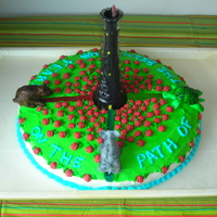 Stephen King's Dark Tower This is a cake my dad and I made together for my mom's birthday. It's based off Stephen King's Dark Tower series, which is...