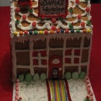 Gingerbread House This was a 3rd grade project with my son.