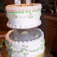 My Wedding Cake   close up view