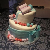 First Ever Topsy Turvy/mad Hatter Cake First ever Topsy Turvy/Mad Hatter as well as first time using fondant to cover. First bows, roses, balls. Not too bad, but I need loads...