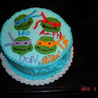 Mom's Turtle Cake My 9 year old daughter made this for my birthday! We took Wilton classes together last year. She, my son and nephew decided I wanted a...