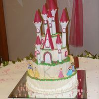 Modified Wilton Castle My first BIG BIG cake- And there was no Drama! Yeah!