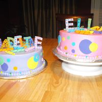 Sister's Birthday Cakes