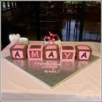 "Amaya.jpg This cake actually turned out better than I expected. I carved 6"" cakes down to 4""."
