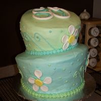 Mom's 50Th Bday Cake Here is the cake I made for my mom. It's my 2nd TT cake (the first was a trial and went horribly wrong!) and I got the idea from Edna...