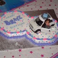 Bratz Birthday Bratz mini car is a topper and a present all in one
