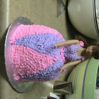 Barbie Doll Cake This was for a 5 year old's birthday.