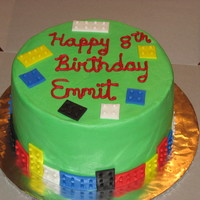 Lego Boy Birthday Did this cake for a Lego fan. Wow there are a lot of dots on Lego's. He loved it though. Chocolate cake with cream cheese filling. The...