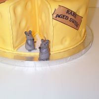 Mice For Big Cheeses Cake Just wanted to show a close up of the mice. This was my first time modeling a figure. I had my doubts about them as they looked like aliens...