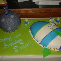 Buzz And Zurg   This cake was inspired by jellygirl, kaw123 and lauracox79. It was very fun to make and my son LOVED it! Thanks for the great ideas!