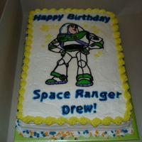 Buzz Lightyear FBCT with regular buttercream.