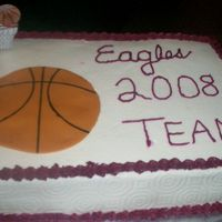 Lcs Eagles Basketball For the school end of season basketball party. A special cake for 15 hungry teenagers!!