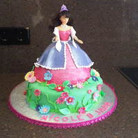 Barbie Princess Cake Yet another barbie princess cake.