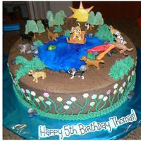 Dog Theme Birthday This was for a little boy who was having a dog-themed birthday party at his grandparents lake house. Canoe, paddle, lily pad and sun are...