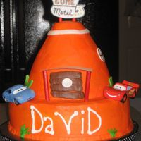 Cozy Cone Cake I made this for my little boy's third birthday. He is Cars obsessed! Thanks so much to Lambshack for posting her Cozy Cone, which...