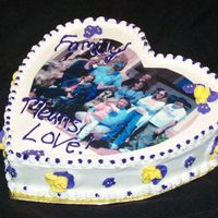 A Cake For A Mom Gone Too Soon Made this for a new friend whose mom got notice she had about 2 weeks to live with a rare fast growing cancer. She has since died and I am...