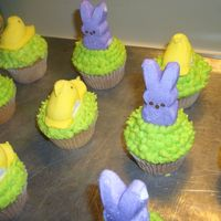 Easter Cupcakes   I made these cupcakes for my niece's Easter party at school...