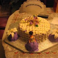 Mother's Day - Spanish I made this cake for my mom and she loved the decor but the flavor even more - all of them were tres leches.
