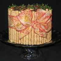 Thanksgiving - Autumn Pirouette Cake