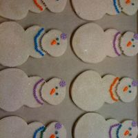 Snow Girlies sugar cookie with royal icing