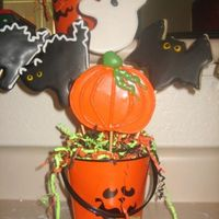 Halloween Bouquet NFSC with RI....I love Halloween!