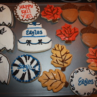 Eagles And Fall Cookies