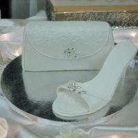 3/d Bridal Purse & Shoe