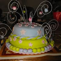 Tykyras_5_Bday_Party_002.jpg My daughters b-day cake. After my first attempt of snowwhites cottage failed. I made this cake at 2pm it showes but it's made with...