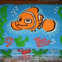 Nemo My First FBCT. Finding Nemo 1st birthday cake!
