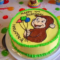 Curious George My son's birthday. All BC