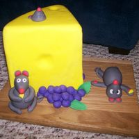 Mice & Cheese This is a dummy cake I used for the Glendale Sugar and Cake Show and for the 4-H county fair. I won 1st in the amateur division at the...