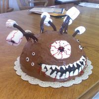 Monster Beholder From D&d  This is a monster from Dungeons and Dragons called a Beholder. It one of the original, classic monsters which is know for it's...