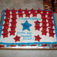 Welcoming Abby I made this cake for Abby who was adopted by my nephew. Her mother married my nephew and he wanted to adopt her. We loved her before she...