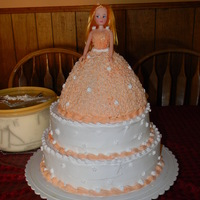 Presentacion De 3 Anos This cake is a 3 leches cake with coconut filling. It is decorated with whip topping and the peach frosting is made out of a crisco...