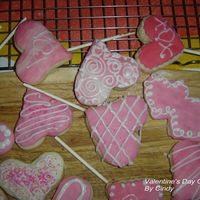 Valentines Cookies These cookies were made by my daughter and I. We really had fun making them. A nice person on this web site helped me out with them. The...