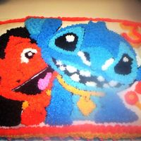 Lilo & Stitch Cake   I made this for my daughter's 3rd birthday. I actually got the idea from another person on cakecentral.com. My daughter loved it.