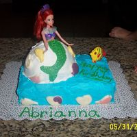 Ariel Part 2 my triplets birthday first time baking