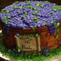 Grape Barrel Another barrel of grapes for a birthday party