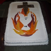 Pentecost I've never really worked with fondant before. I was inspired by a cake I saw here at CakeCentral and decided to try it out. It was a...