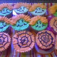 Halloween Cupcakes Part Two   Made for dessert for the kids after today's soccer game.